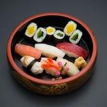 寿司盛合せ「羽衣」 1人前