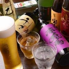 豊富な日本酒・焼酎
