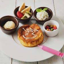 お絵描きパンケーキ