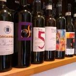 ブュッフェ形式でのワイン会も。