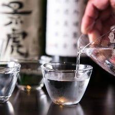全国から選りすぐった地酒・焼酎