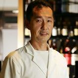 料理長 佐々木彰 四季の食材を厳選。皆様にご提供致します。