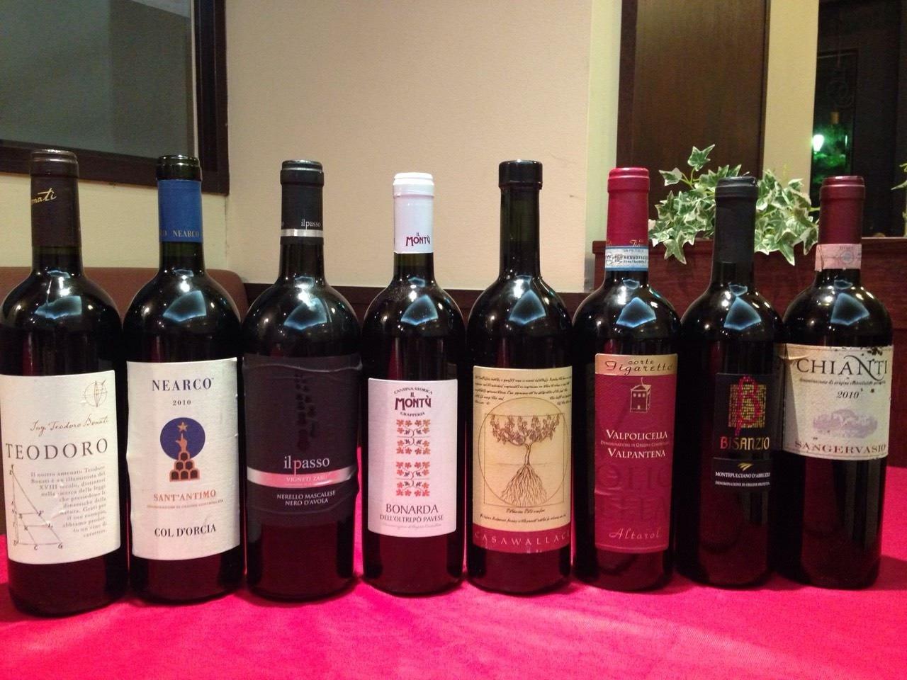 厳選!イタリア産ワイン
