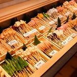 季節の素材・野菜も取り入れ種類豊富にご用意しております。