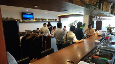as WINE DINING  店内の画像