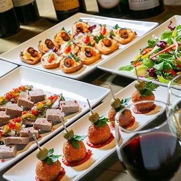 as WINE DINING  コースの画像