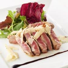 【全6品】as WINE DININGで宴会で楽しむなら『牛ロースの3,850円コース』宴会・飲み会・歓迎会・送別会