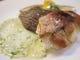 ランチセット 2種の魚のソテー サルサヴェルデ