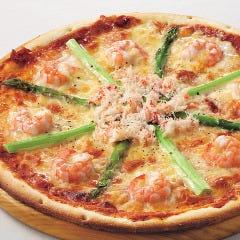 【ピザ1番人気】プレミアムコート・ダジュールピザ