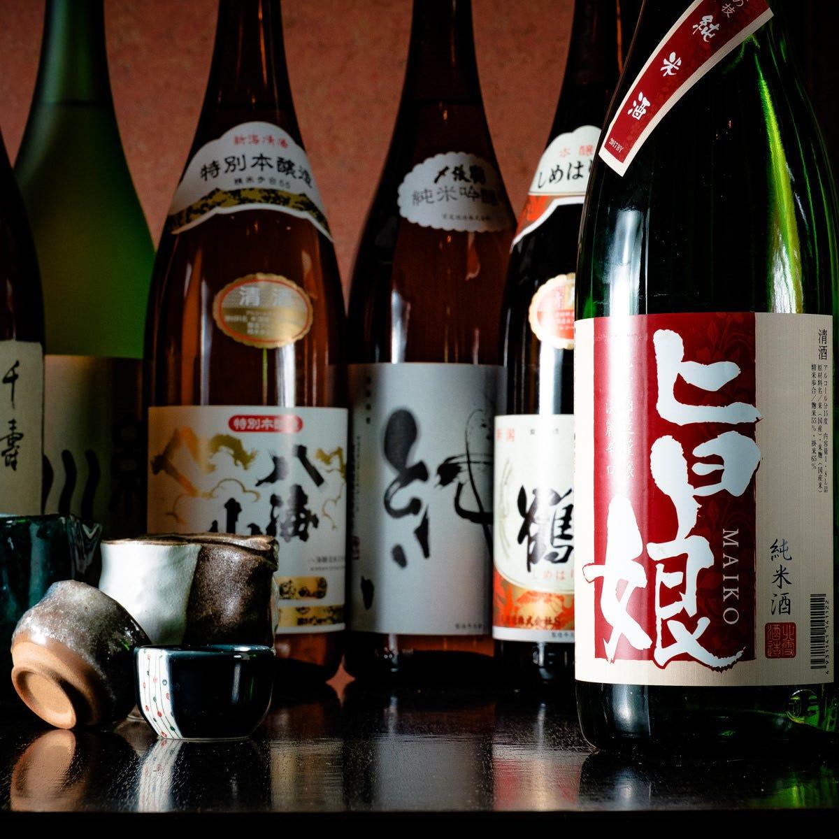 厳選旬の地酒・日本酒入荷