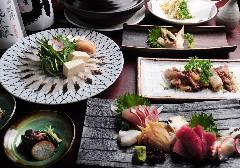 穴子しゃぶしゃぶと日本酒 力喜‐りき‐