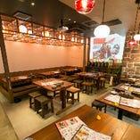 【店舗貸切/30~45名様】プロジェクター&スクリーン完備!沖縄旅行気分で楽しむ宴会