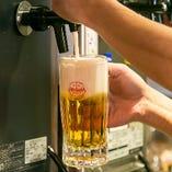 《オリオン生ビール》 ご当地ビール堪能!飲み放題でも楽しめる