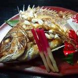 結納・顔合わせプランは小鯛の姿焼、金箔入り純米酒付!