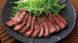 和牛ステーキ付ランチコースは1ドリンク付きでお得!