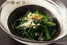 江戸の代表的な野菜!小松川産の 小松菜と色々旬の贅沢おひたし!