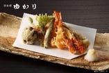 天ぷら御膳 (お通し、小鉢、ご飯、漬物付き)