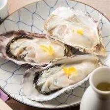 食べて免疫力UP!!海のミルク「牡蠣」 その時期の旬の牡蠣をご用意しております