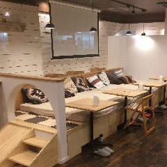 生ハム無料 tsumugi cafe&bar