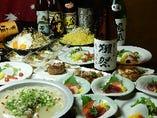 獺祭、魔王の飲めるVIP5000円会席