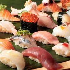 定番寿司から創作寿司