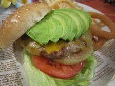 当店のハンバーガーを・・・