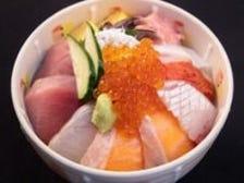 1番人気メニュー『海鮮丼』