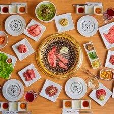 ◆一押し◆NIKULABおすすめ!焼肉食べ放題「堪能premium」プラン⇒全128品2時間3780円