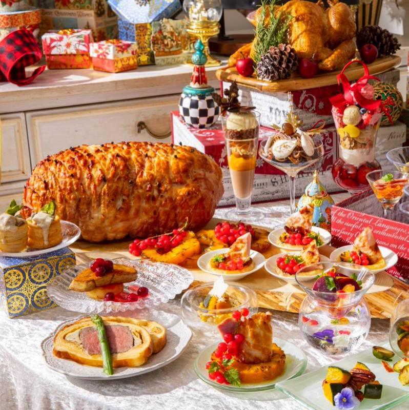 <土日祝>クリスマスランチビュッフェ「サンタクロースの食卓」(11/13~)