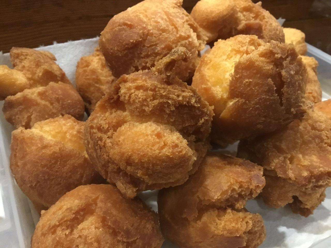 サーターアンダギー「沖縄のドーナツ」お土産、テイクアウト専用