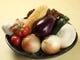 全国各地から取り寄せたこだわりの野菜もオススメです。