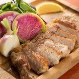 イベリコ豚のグリル ~季節野菜添え~
