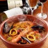 たっぷり魚介のサルスエラ(スペイン風ブイヤベース)