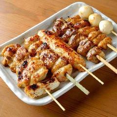 焼き鶏6種盛り合わせ
