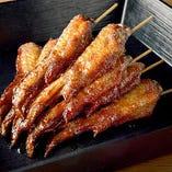 【串料理】 ジューシーでやわらかい焼き串は全品1本99円(税抜)