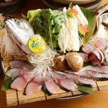 全国より仕入れる天然の鮮魚【能登・七尾・内房・外房・静岡・沼津など】