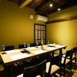 テーブル席完全個室(6~8名様)