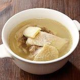 鶏肉蒸しスープ