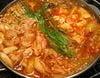 鶏豚チゲ鍋