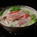 白胡麻豆乳鍋