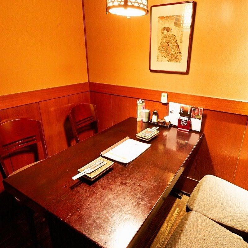 少人数様☆テーブル個室ございます!