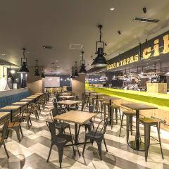 FOOD HALL & BAR cibo