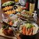 豪華絢爛!蟹すき鍋コース 3時間 6000円
