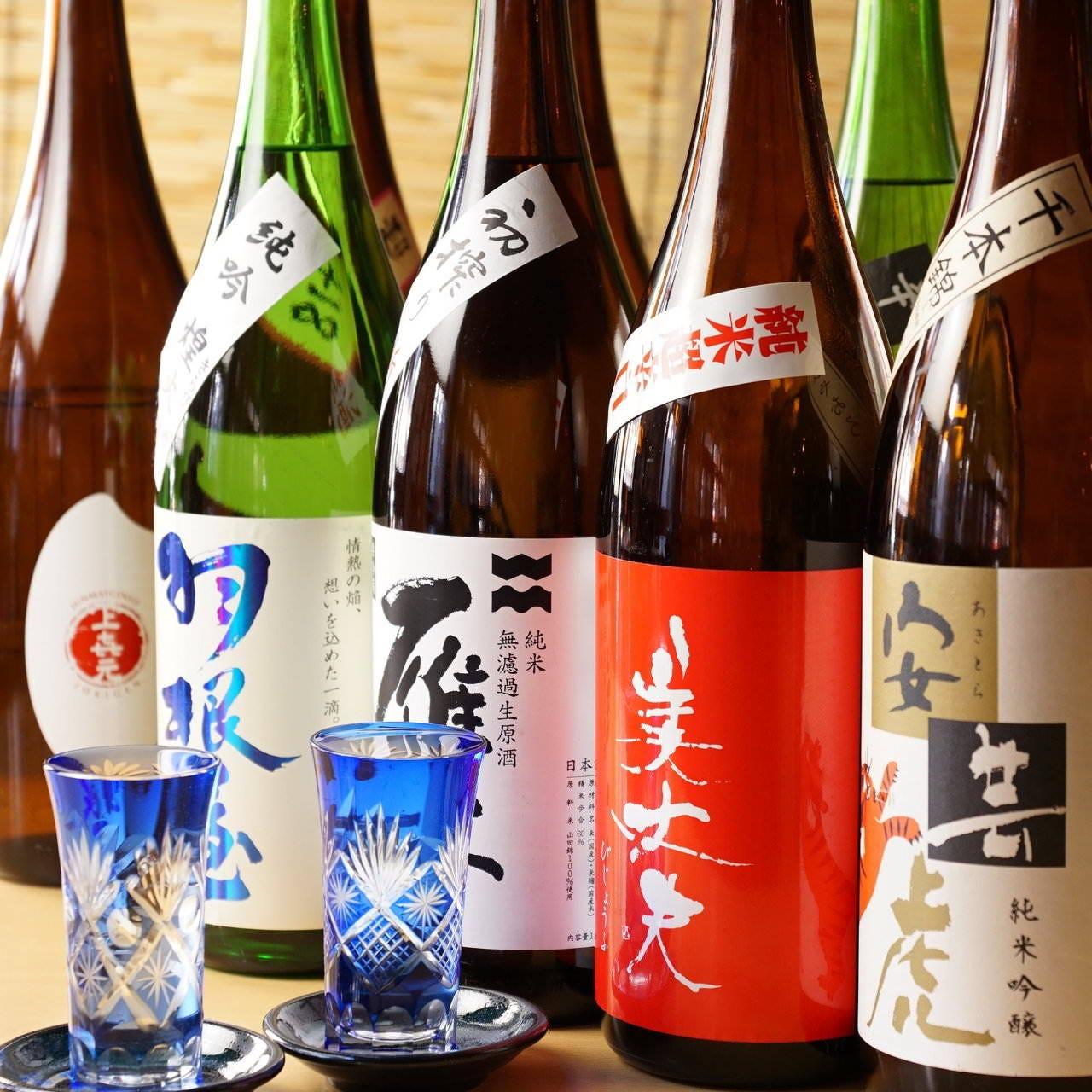 日本各地の地酒を取り揃え★