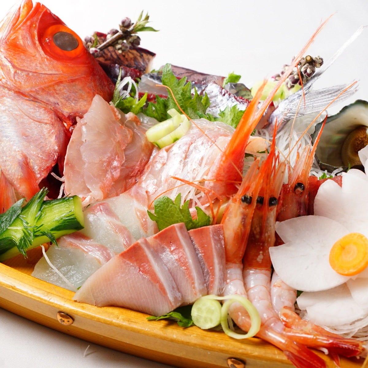 【海の幸】ご当地の海鮮をご用意!