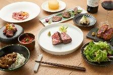 炙り肉寿司やトリュフすき焼き・和牛ステーキを楽しみ、和牛の煮込みカレーで〆る「至極のステーキコース」