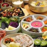 野菜をいっぱい食せる韓国料理 女子にも大人気♪