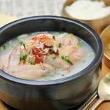 参鶏湯のおいしい季節です♪