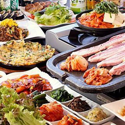 本場韓国料理 豚ザラン 大和店