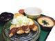 ランチ限定「麦とろ味噌カツ定食」 自家製味噌ダレがこだわり